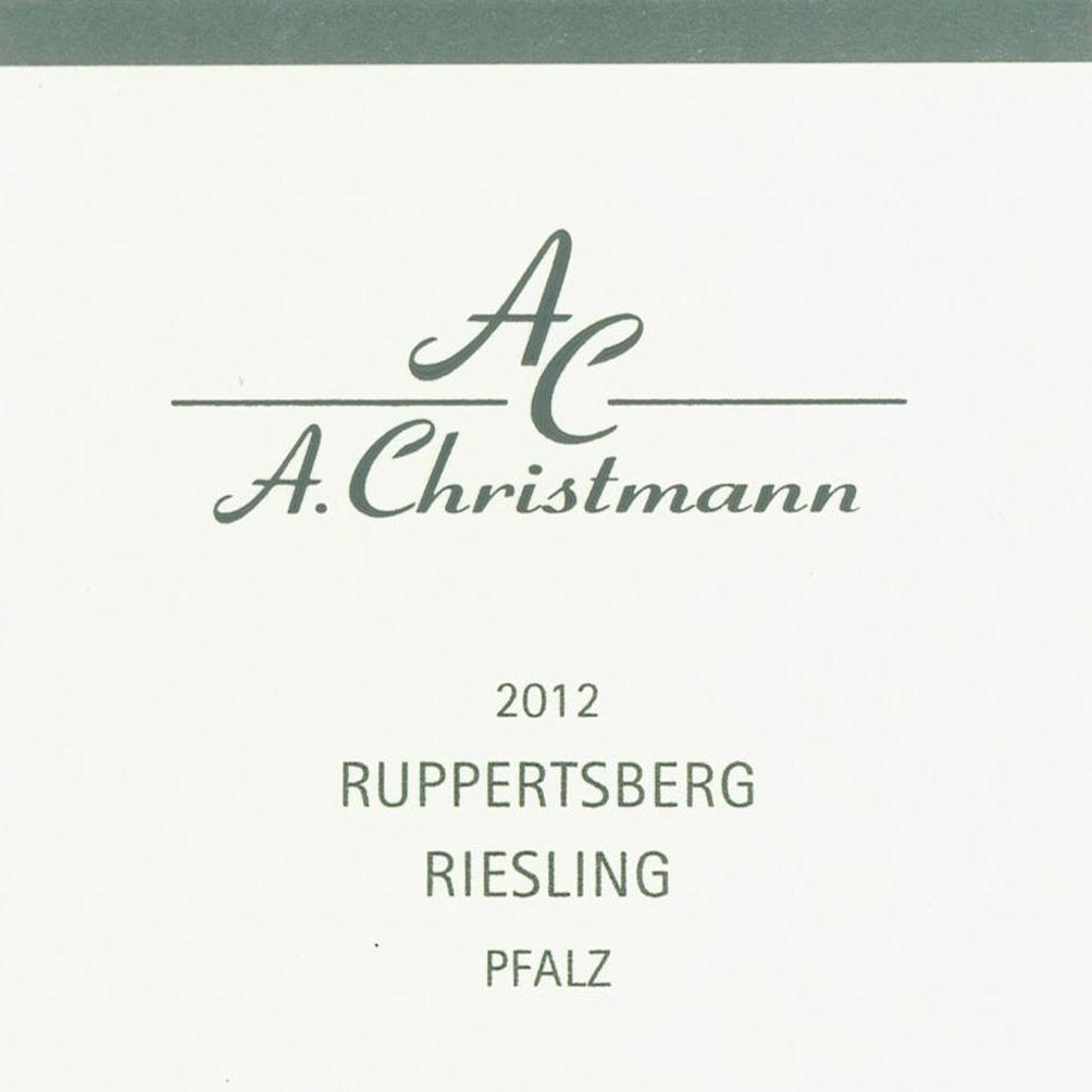 Christmann / 2012 Ruppertsberg Riesling trocken-80