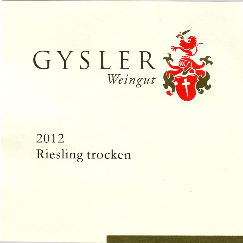 Alexander Gysler / 2015 SANDSTEIN Riesling Gutswein trocken-100