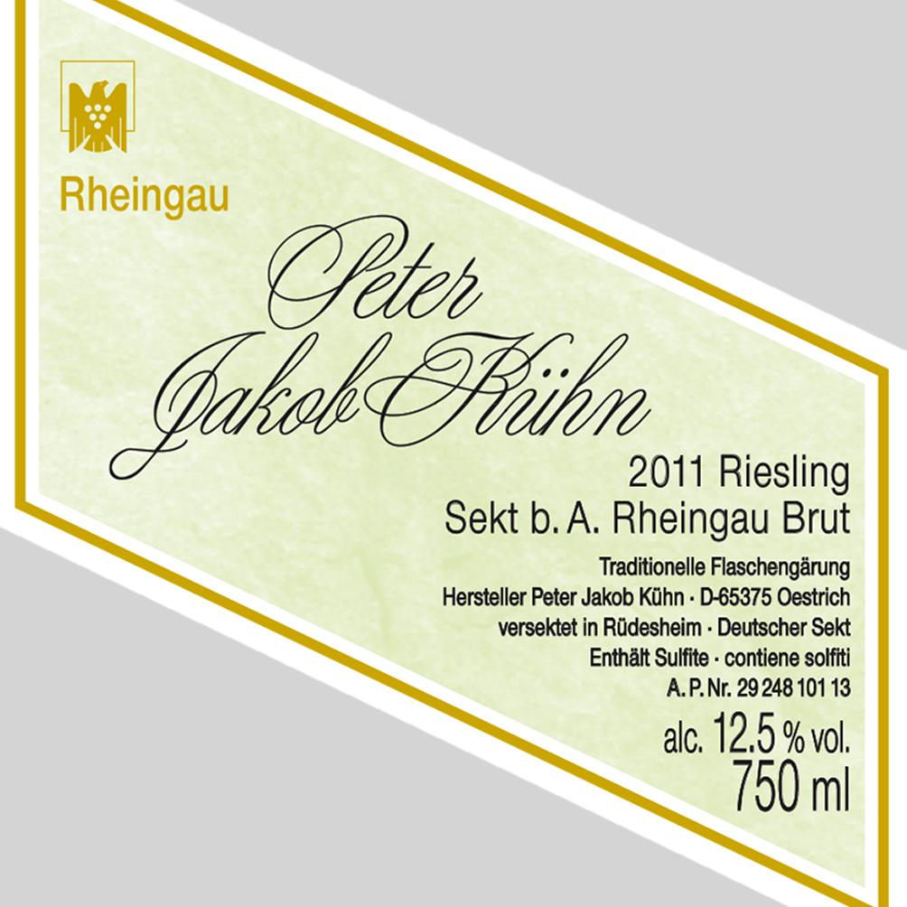 Peter Jakob Kühn / 2012 Riesling Sekt Brut-107