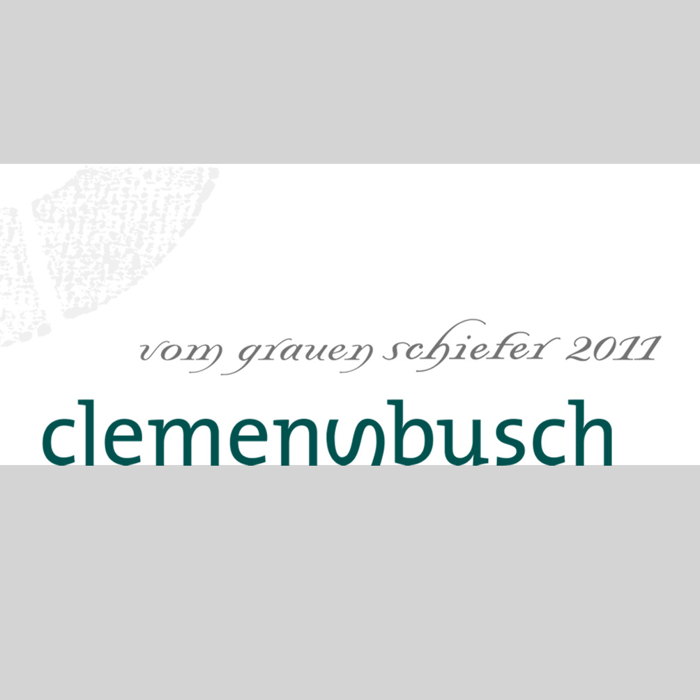 """Clemens Busch / 2013 Riesling """"vom grauen Schiefer"""" trocken-106"""