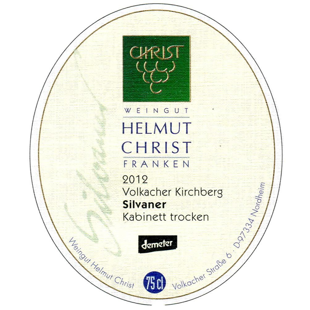 Helmut Christ / 2015 Volkacher Kirchberg Silvaner Kabinett trocken-227