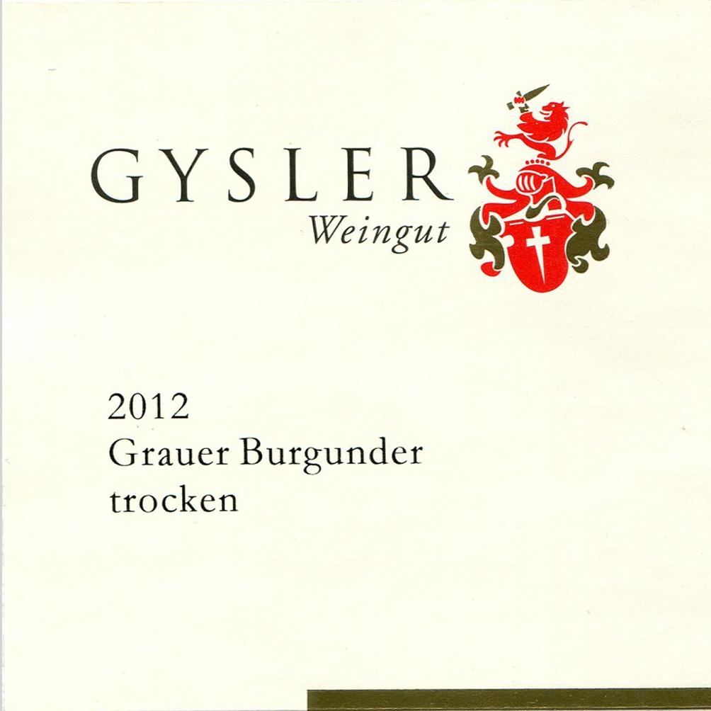 Alexander Gysler / 2016 FELDSTÄRKE Grauburgunder Gutswein trocken-101