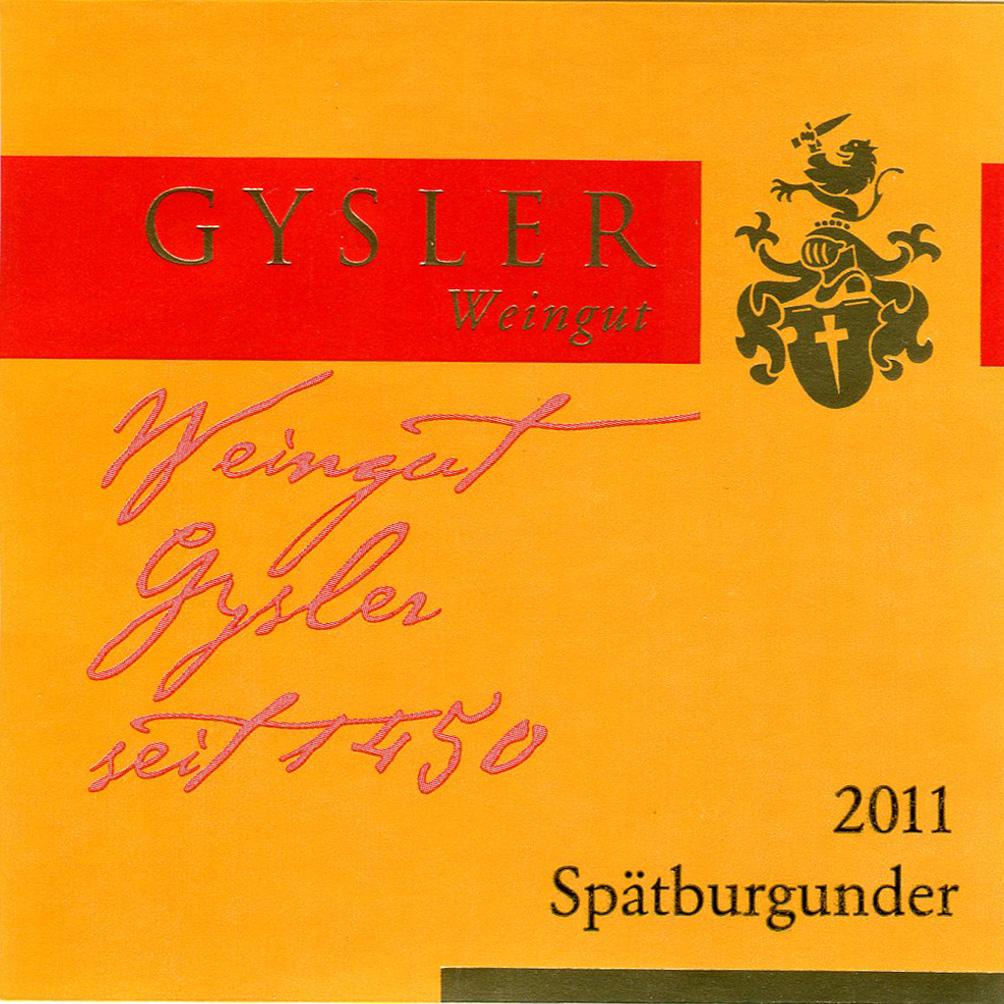 "Alexander Gysler / 2011 Spätburgunder ""S"" trocken-97"