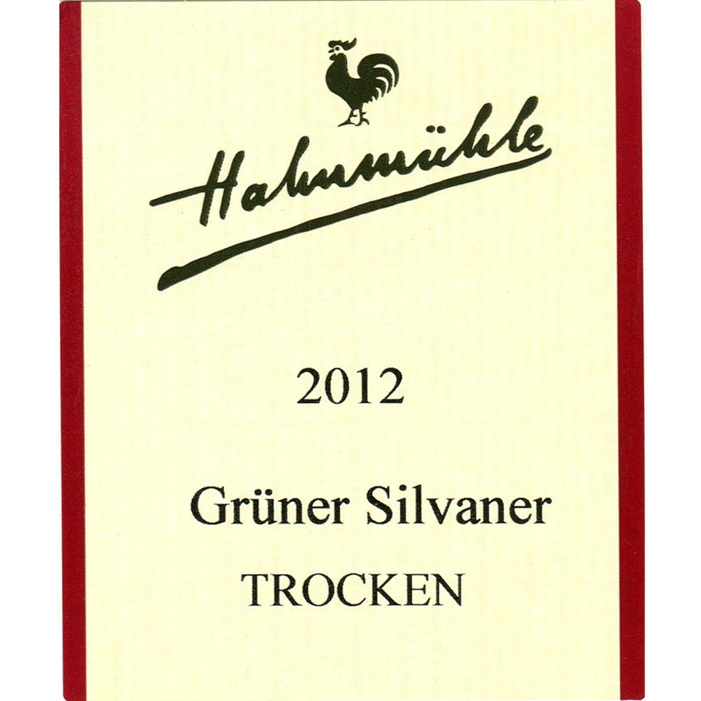 Hahnmühle / 2014 Grüner Silvaner trocken-95