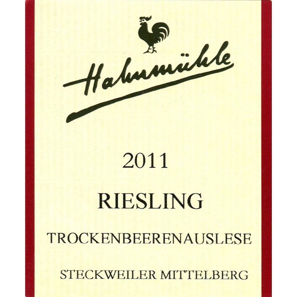Hahnmühle / 2011 Riesling Trockenbeerenauslese-89