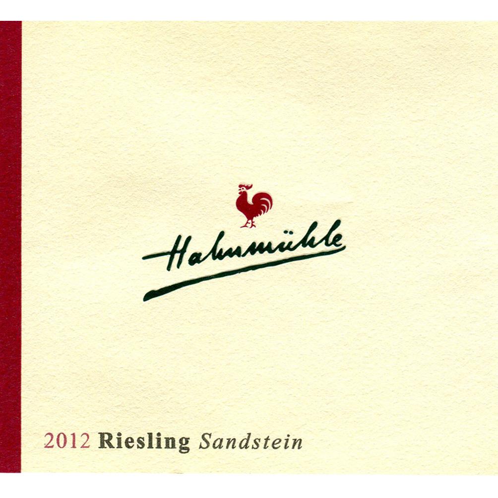 "Hahnmühle / 2015 Riesling ""Sandstein"" trocken-93"