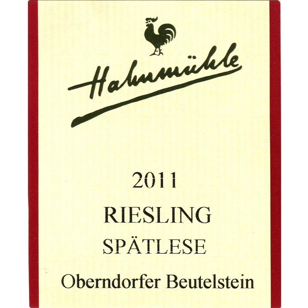 Hahnmühle / 2011 Riesling Spätlese-91
