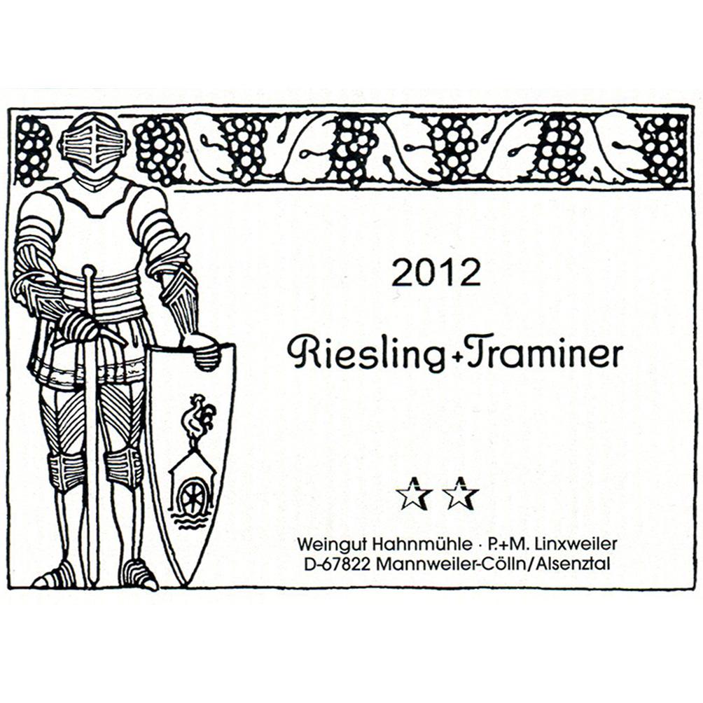 Hahnmühle / 2013 Riesling Roter Traminer Spätlese feinherb-92