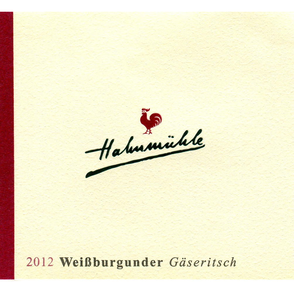 """Hahnmühle / 2015 Weißburgunder trocken """"Gäseritsch""""-94"""