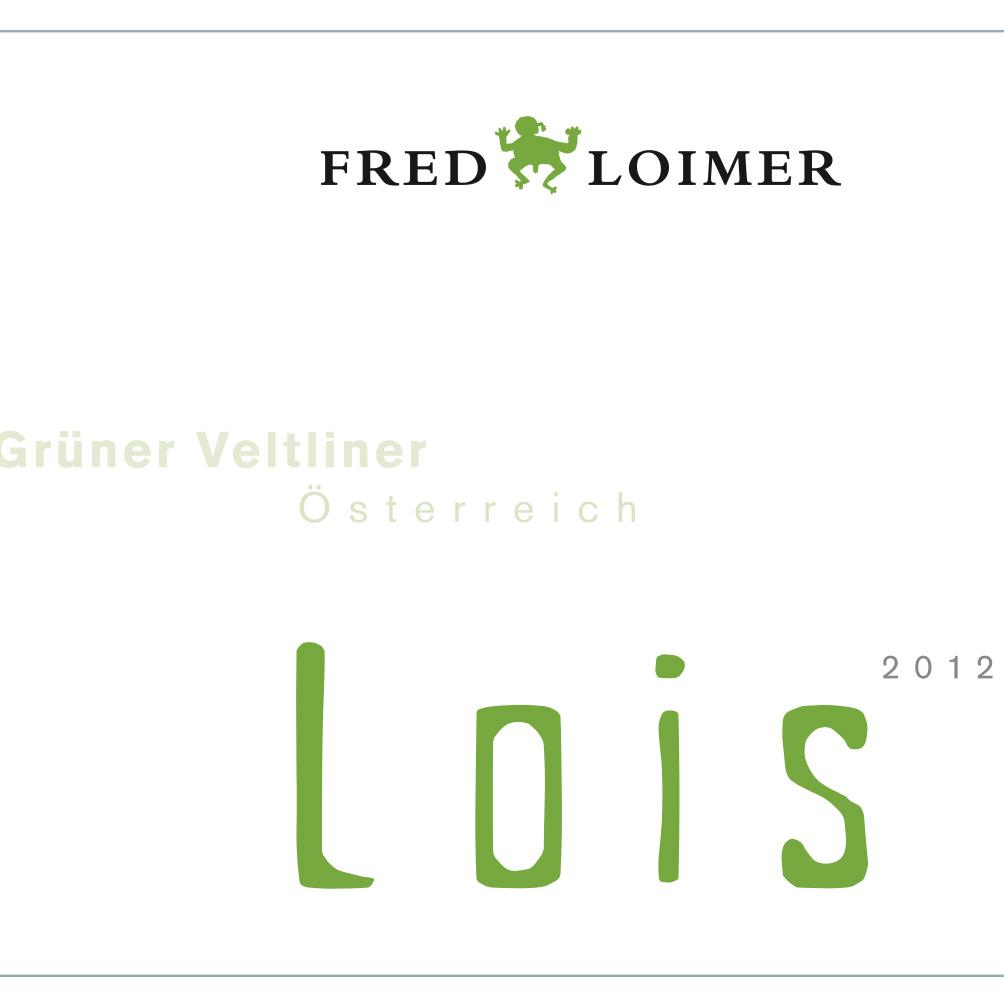 Fred Loimer / 2015 Lois - Grüner Veltliner-66