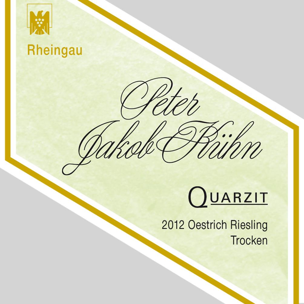 Peter Jakob Kühn / 2012 Quarzit Riesling trocken / VDP. Ortswein-112