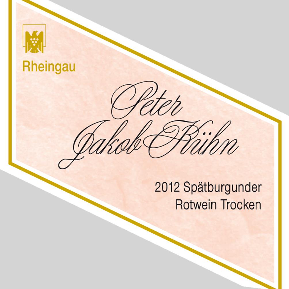 Peter Jakob Kühn / 2014 Spätburgunder Rotwein Qualitätswein trocken-108