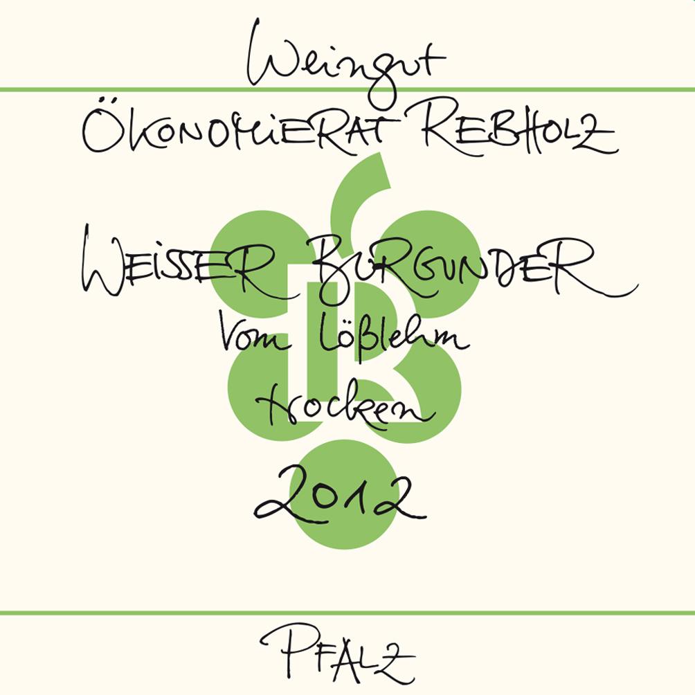 Ökonomierat Rebholz / 2013 Weisser Burgunder Vom Lößlehm trocken-74
