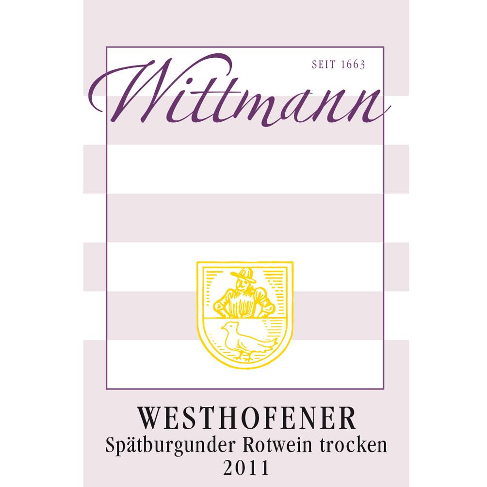 Wittmann / 2011 Westhofener Spätburgunder trocken-84